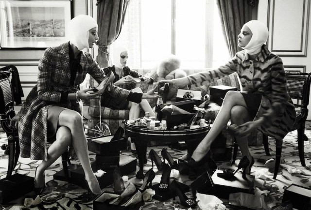 Steven Meisel - Vogue Italia July 2005 -