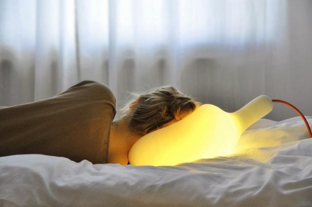 La lampe aussi douce qu'un oreiller de Simon Franbach