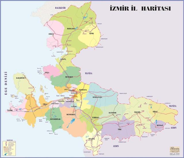 Izmir-haritasi