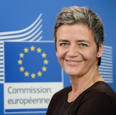 Portrait of Margrethe Vestager, Member of the EC in charge of Competition